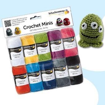 Schachenmayr Crochet Minis