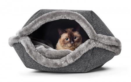 Kissanpesä Lugano, 55 cm