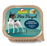 GranataPet Mini Royal vasikkaa & kania  kesäkurpitsaa, kurpitsaa ja pellavaöljyä