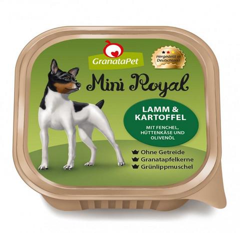 GranataPet Mini Royal Lammasta & perunaa fenkolia, raejuustoa ja oliiviöljyä
