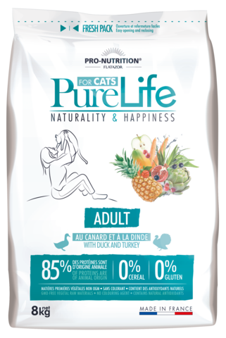 PureLife Adulte Kana ja Kalkkuna 8kg
