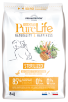 PureLife Sterilized Ankka ja Sardiini 8kg
