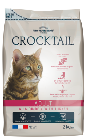 Crocktail Adult 2kg -kalkkuna