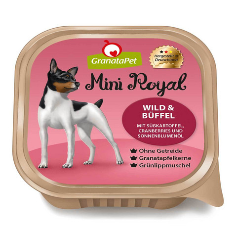 GranataPet Mini Royal riista & puhveli