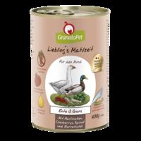 GranataPet Liebling´s Mahlzeit ankka & hanhi