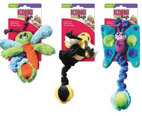 Cat toy Kong Kitty Fuzz Bugs