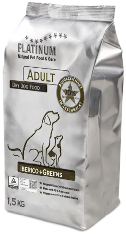 Platinum Adult Iberico+greens 1,5kg