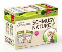 Schmusy Nature´s Menu Kitten annospussi 12×100 g