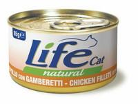 LifeCat Kana (kananrintafile) & Katkarapu 85g