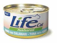 LifeCat Tonnikala & kalmari 85g
