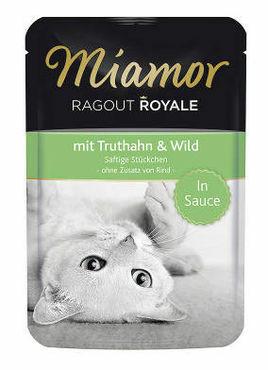 Miamor Ragout Royale Kalkkuna & Riista 100g Sauce