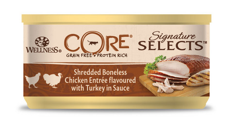 Adult Cat SIGNATURE SELECTS Shredded Chicken & Turkey