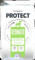 Protect Dermato 2kg Iho-ongelmista kärsiville koirille.