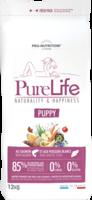 PureLife puppy 12kg 85% Eläinproteiinia 0% Viljaa 0% Gluteiinia