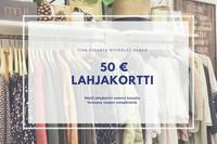Hanko lahjakortti 50€