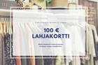 Hanko lahjakortti 100€