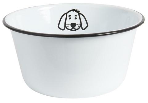 Ib Laursen emalinen koiran kuppi XL