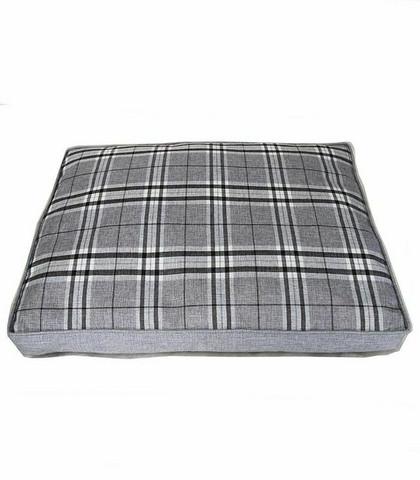 Koiran tyyny ruudullinen harmaa