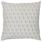 Ib Laursen sinivalkoinen  pienet kukat sisustustyynynpäällinen  50 x 50 cm