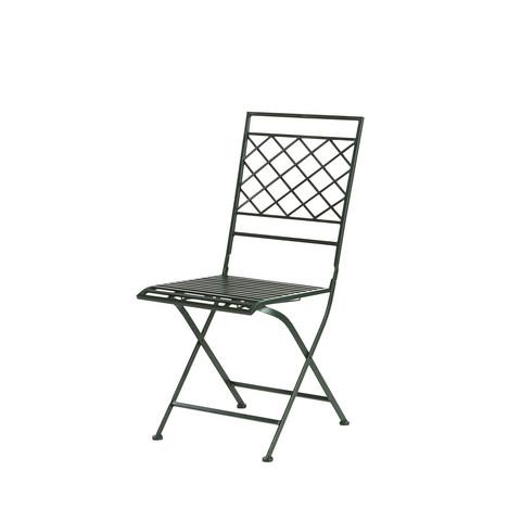 Lene Bjerren Gardia puutarhakalusto pyöreä pöytä ja 2 tuolia