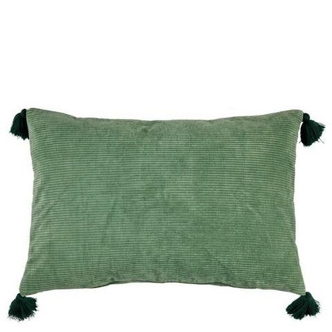 Lene Bjerre samettityyny vihreä 40 x 60 cm
