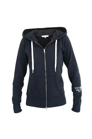 Blue Feline hood jacket deep navy