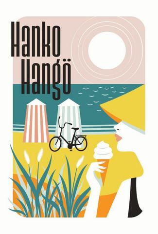 Come to Finland Hanko Riviera of Finland tarjotin vaneria