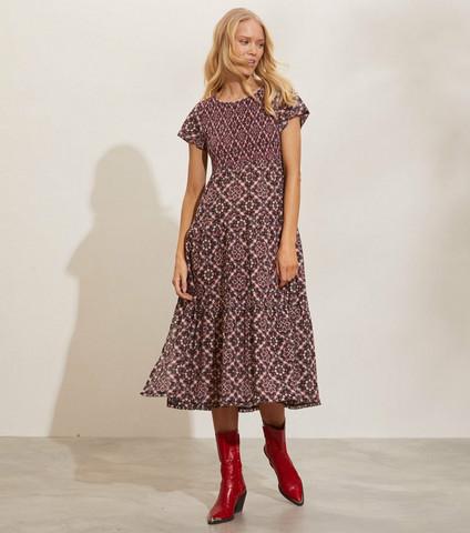 Odd Molly Myrtle dress asphalt