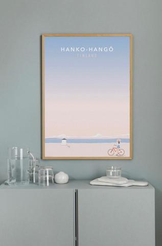 Come to Finland juliste Space in Hanko
