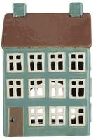 Ib Laursen keraaminen talokoriste vihreä kerrostalo