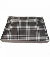 Koiran tyyny ruudullinen ruskea XL