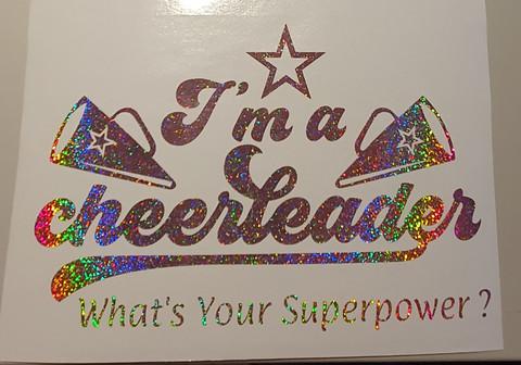 I'm A Cheerleader !