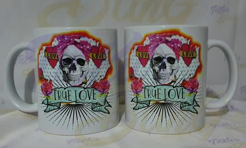 True Love Skull