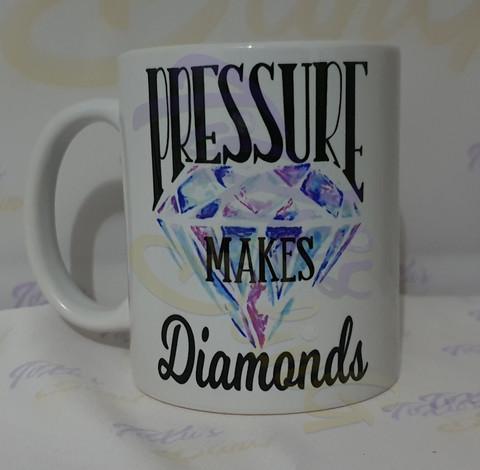 Pressure Makes Diamonds - Kahvikuppi