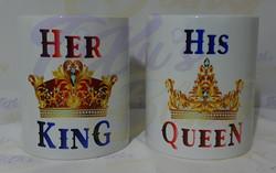 Her King & His Queen