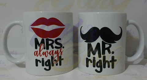 Mrs. Always Right - Mr. Right