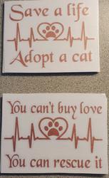 Save A Life - Adopt A Cat