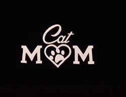 Cat Mom Reflective