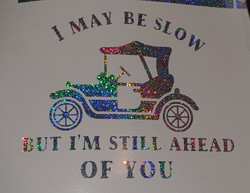 I May Be Slow But I'm Still Ahead Of You