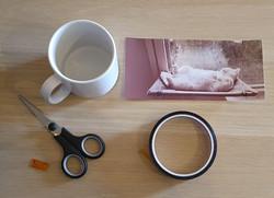 Kahvikuppi omalla kuvalla