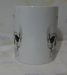 Floral Skull Kahvikuppi