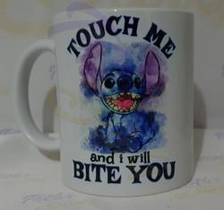 Stitch - Toutch me and i will Bite You