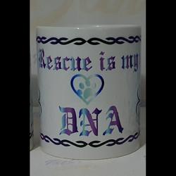 Rescue Is My DNA Kahvikuppi