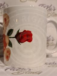Sydän Nallukka Ruusuilla