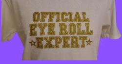 Official Eye Ball Expert - Valkoinen paita