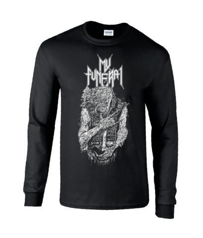 My Funeral - Thrash Zombie- Long Sleeve shirt
