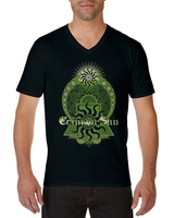 Crimson Sun - The Spirit Of Unchainable - V-Neck T-Shirt