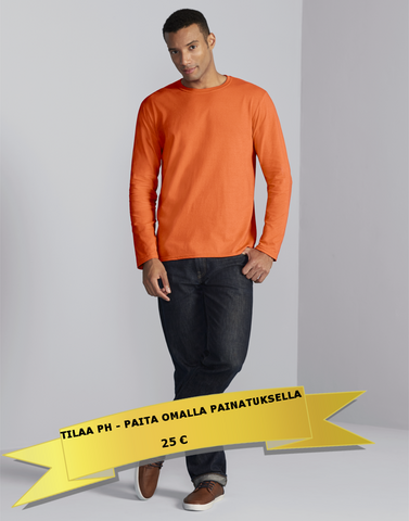 Long sleeve shirts - Basic Collection - Small quantities (1 - 20 pcs)