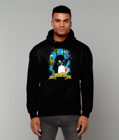One Morning Left - Penguin - College Hoodie
