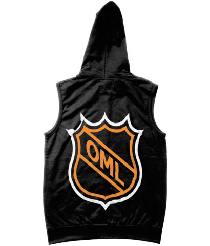 One Morning Left - NHL - Sleveless Zipper Hoodie